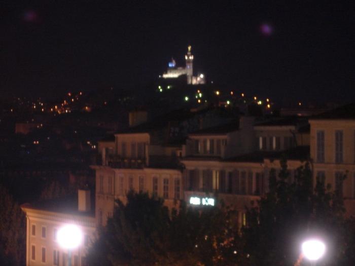 Vue Escalier Saint-Charles Nuit - Cécile